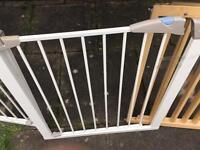 Four stair gates