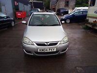Vauxhall Corsa 1.2 Low Mileage 2004 Just 65K Miles 12 Mts Mot 5 door( Car Just Come in.)