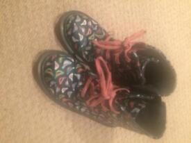 M&S bird boots size 12