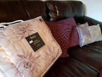 Purple Bedding - Throw and Pillows / Cushions
