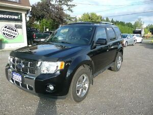2009 Ford Escape Limited 3.0L LEATHER SUNROOF AWD HEATED SEATS