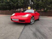 Porsche Boxster 2.7 218 bhp bargain swap px welcome