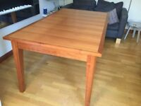 Dining Room Table from Marks and Spencer. Cherrywood.
