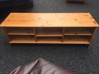 Pine tv stand / side unit