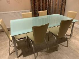 Dining table furniture set