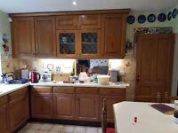 Chestnut Kitchen Units For Sale