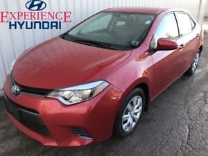 2016 Toyota Corolla LE AWESOME WITH LOW KMs  FACTORY WARRANTY AN