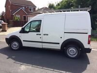 ford transit connect van diesel with side loading door .nicely boarded out. beautiful condition .