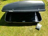 Halfords Roof Box - Complete, VGC.