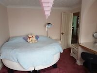 double furnished room to let in a clean property.