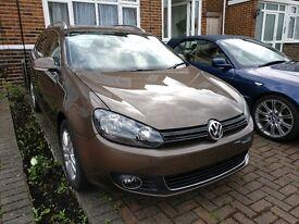 Volkswagen Golf estate 2012 1.6 TDI Bluemotion SE