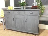 SIDEBOARD/Chest FREE DELIVERY LDN🇬🇧vintage grey