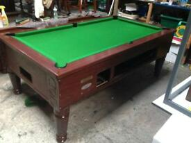 Pool table 7x4 slate bed