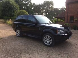 Range Rover sport, super condition , owned for 8yrs lady driver , well maintained , lovely to drive