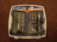 Draper 35 Piece Ratchet Screwdriver, Socket & Bit Set NEW