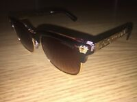 VS1 QUALITY SUNGLASSES (BROWN/GOLD)