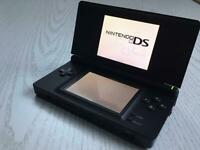 Nintendo DS lite with Case, Charger, and 3 games