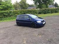 2005 Vauxhall Zafira sri turbo conversion 270bhp swap px