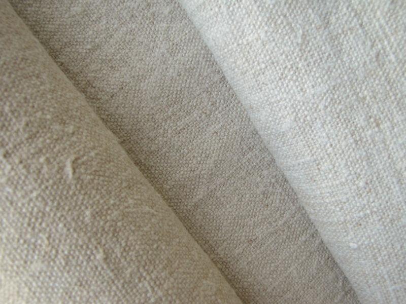 Antique linen fabric 3YD linen upholstery slipcover