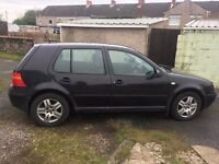 Volkswagen Golf 1.6 Black
