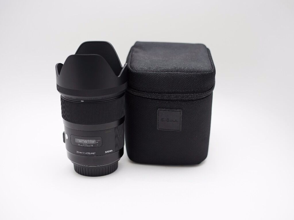 Sigma 35mm F14 Dg Hsm Art Lens For Canon In South Kensington I