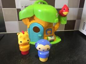 Fisher-Price Silly Safari Musical Discovery Treehouse