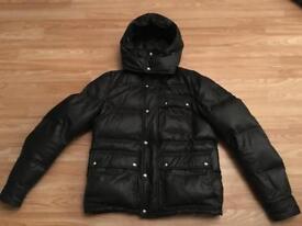 Men's belstaff coat for sale like new black