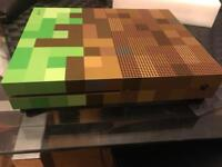 Limited edition minecraft edition Xbox one slim 1TB