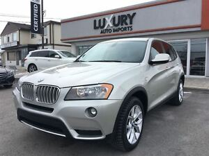 2011 BMW X3 28I XDRIVE - PANOROOF-ONLY 87 K