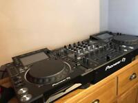 Pioneer CDJ 2000 NXS2 X2 And 1 X DJM 900 NXS2 Mixer All New