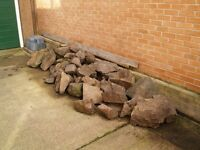 Rockery Stones. 1-2 tonnes approx.