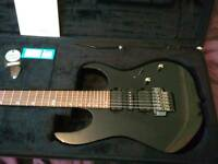 Ibanez RG870Z-BK guitar with Ibanez