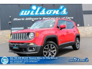 2016 Jeep Renegade North | 4WD | HEATED STEERING + SEATS | REMOT