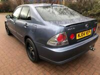 87000 FSH 1 year MOT Lexus IS200 2ltr sport 6 Speed high spec