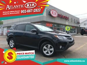 2014 Toyota RAV4 XLE AWD, SUNROOF, HEATED SEATS, BACKUP CAM, LOW