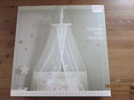 Next sparkle star canopy - brand new