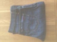 "Blue Cult Dark Blue Denim Women's Bootcut Fit Jeans (29""W x 33""L) JUST REDUCED"