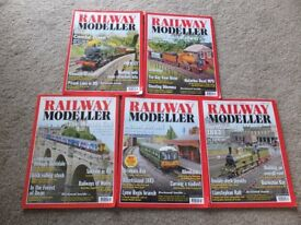 20 railway modeller magazines AUGUST 2015 to APRIL 2017 in VGC MINSTER SHEERNESS