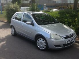 2005 VAUXHALL CORSA 1.4 AUTOMATIC 5 DOOR ONLY 50000 MILES
