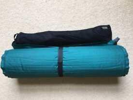 Camping sleep comfort mat and Trek chair