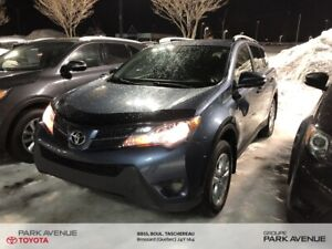 2013 Toyota RAV4 LE+AWD+CAMERA DE RECUL+BLUETOOTH+USB