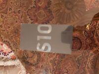 Brand new unlocked Samsung Galaxy S10 128 GB (Factory sealed)