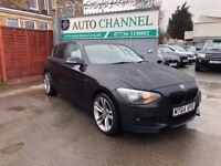 BMW 1 Series 2.0 118d SE Sports Hatch 5dr (start/stop)£8799 p/x welcome FREE WARRANTY, NEW MOT
