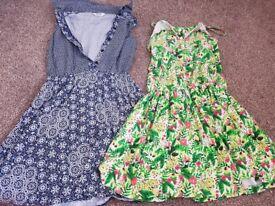 a huge black bag of girls clothes age 8-9
