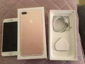 iPhone 7 Plus 32gb Gold Excellent Condition