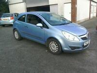 07 Vauxhall Corsa 3 door Moted March 2017 ( can be viewed inside anytime)