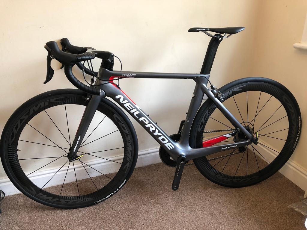 cd6389e7a5d Neil Pryde Nazaré Carbon Road Bike New Ultegra Mavic   in Salford ...