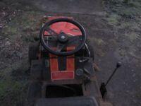 westwood gazelle 6 hp petrol ride on mower
