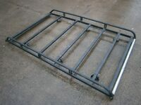 ROOF RACK TO FIT TRANSIT VITO PARTNER CADDY BERLINGO PARTNER, GALVANISED & RHINO