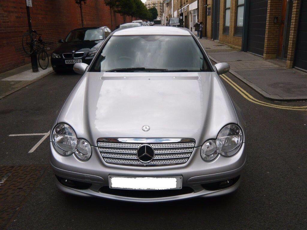 Mercedes benz c class 1 8 c180 kompressor sport ed 2 door for 2005 mercedes benz c class coupe